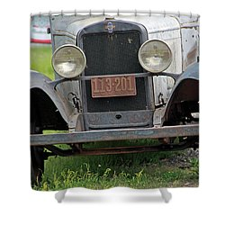 Chevy Huckster 1930 Grill Shower Curtain