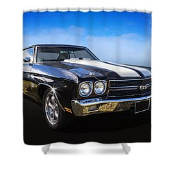 Chevy Muscle Shower Curtain