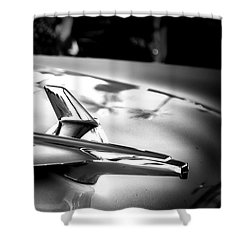 Chevy Noir Shower Curtain by Mark David Gerson