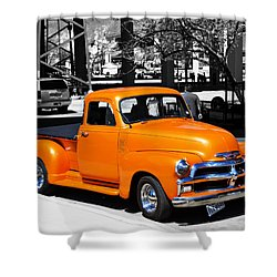 Chevy Pick Up  Shower Curtain