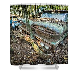 Chevy Tree Shower Curtain