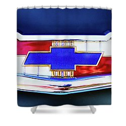 Chevy's Fifties Bowtie Shower Curtain