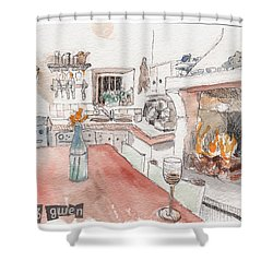 Chez Gwen Shower Curtain