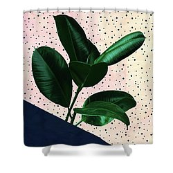 Chic Jungle Shower Curtain