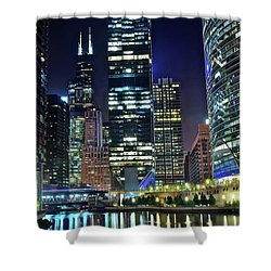 Chicago Towers 2017  Shower Curtain