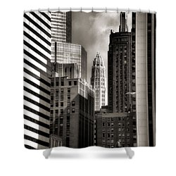 Chicago Architecture - 13 Shower Curtain