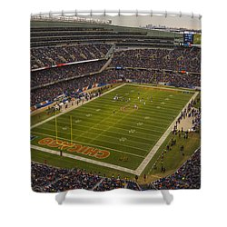 Chicago Bears Soldier Field 7795 Shower Curtain