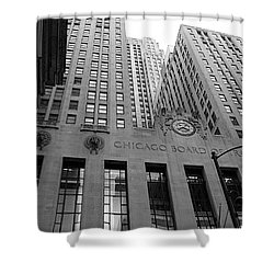 Chicago Board Of Trade Shower Curtain