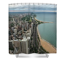 Chicago Coast Shower Curtain