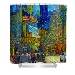 Chicago Colors 2 Shower Curtain