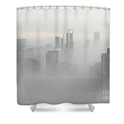 Chicago In The Clouds Shower Curtain