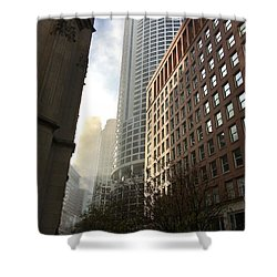 Chicago Light 2 Shower Curtain