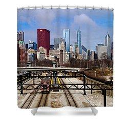 Chicago Metro Shower Curtain