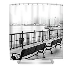 Chicago Navy Pier Shower Curtain