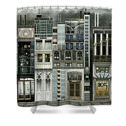 Chicago Reconstruction 1 Shower Curtain