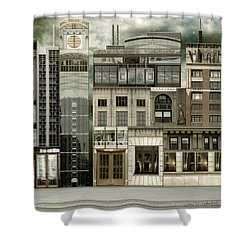Chicago Reconstruction 2 Shower Curtain