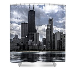 Chicago Skyline Ver3 Shower Curtain