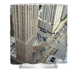 Chicago Streets Shower Curtain
