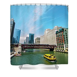 Chicago, That Toddlin' Town Shower Curtain
