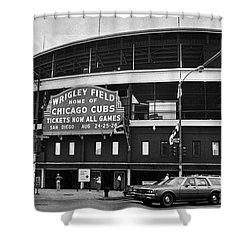 Chicago: Wrigley Field Shower Curtain