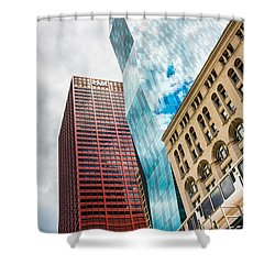 Chicago's South Wabash Avenue  Shower Curtain
