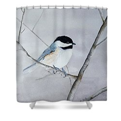 Chickadee II Shower Curtain