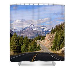 Chief Joseph Scenic Highway Shower Curtain
