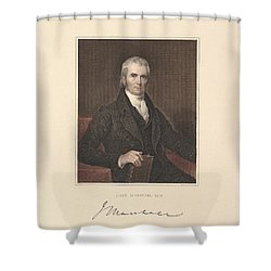 Chief Justice John Marshall Shower Curtain