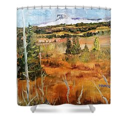 Chief Mountain Shower Curtain