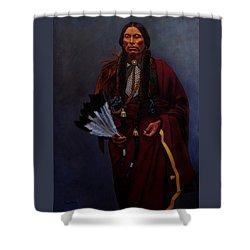 Chief Quanah Parker Shower Curtain