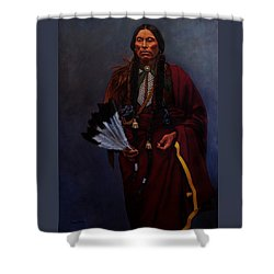 Chief Quanah Parker Shower Curtain