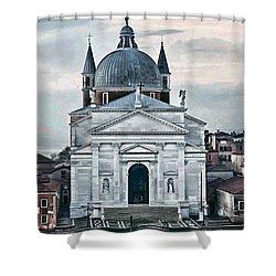 Chiesa Del Redentore Venice Shower Curtain by Tom Prendergast