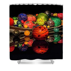Chihuly Reflection Shower Curtain