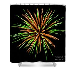 Chihuly Starburst Shower Curtain