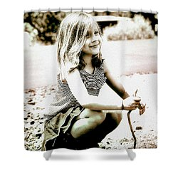 Childhood Memories Shower Curtain