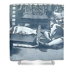 Shower Curtain featuring the photograph Childhood Memories by Linda Phelps
