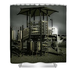 Children's Playground Shower Curtain
