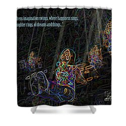 Childrens Verse Shower Curtain