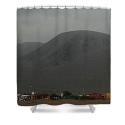 Chilean Village In Atacama Desert Shower Curtain