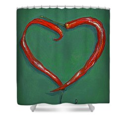 Chiles - Sweet Heat Shower Curtain