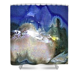 Chill Box Shower Curtain by Xn Tyler