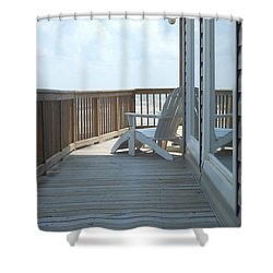 Chill Time Shower Curtain