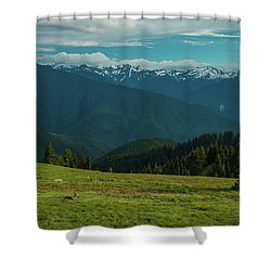Chilling Out At Dusk Shower Curtain