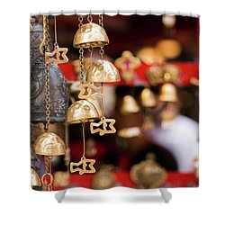 Chime Bell Shower Curtain