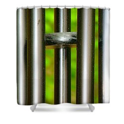 Chiming In Shower Curtain