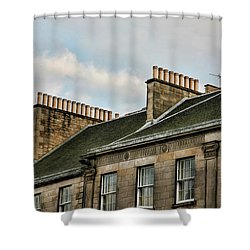 Chimney Architecture Shower Curtain