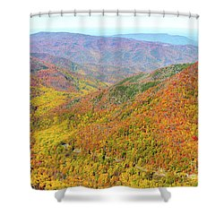 Chimney Tops Summit I Shower Curtain