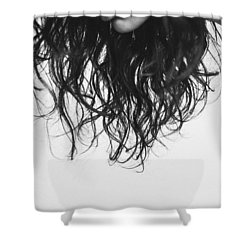Chin Shower Curtain