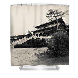 China #0640 Shower Curtain by Andrey Godyaykin