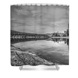 China Bend1 Shower Curtain